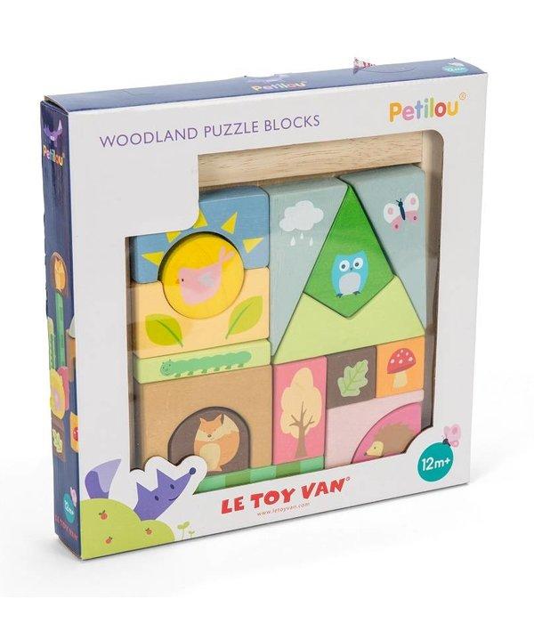 Le Toy Van LE TOY VAN - Puzzelblokken bosdieren