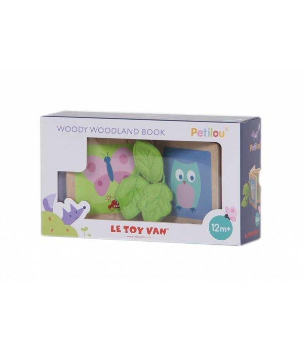 Le Toy Van LE TOY VAN - Houten boekje bosdieren