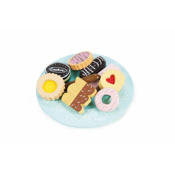 LE TOY VAN - Houten koekjes set 9-delig