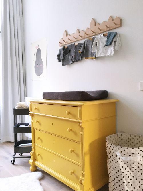 okergeel in de babykamer - de kleur van het jaar 2016 - mini & momo, Deco ideeën
