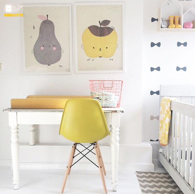 Okergeel in de babykamer de kleur van het jaar 2016 mini momo - Kleur kamer jongen jaar ...