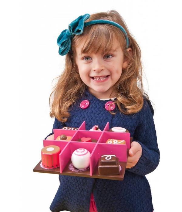 Le Toy Van LE TOY VAN - Houten bonbons set 9-delig
