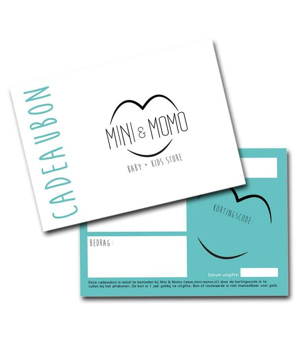 MINI & MOMO - Cadeaubon digitaal