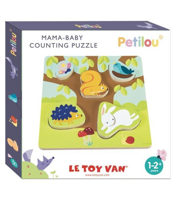 Le Toy Van LE TOY VAN - Puzzel bosdieren mama en baby's
