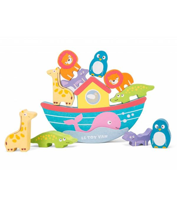 Le Toy Van LE TOY VAN - Noah's balancerende ark met 10 dieren