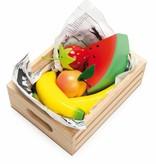 Le Toy Van LE TOY VAN - Kistje met houten fruit