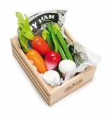 Le Toy Van LE TOY VAN - Kistje met houten groenten