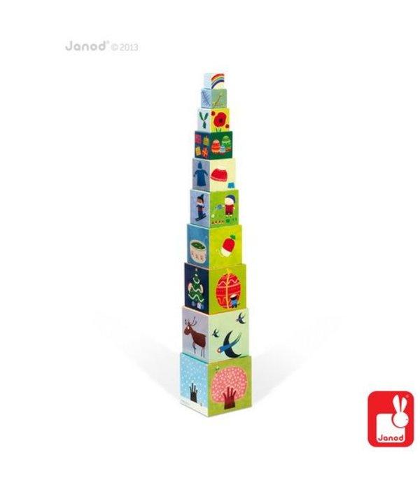 Janod Janod - Stapeltoren seizoenen