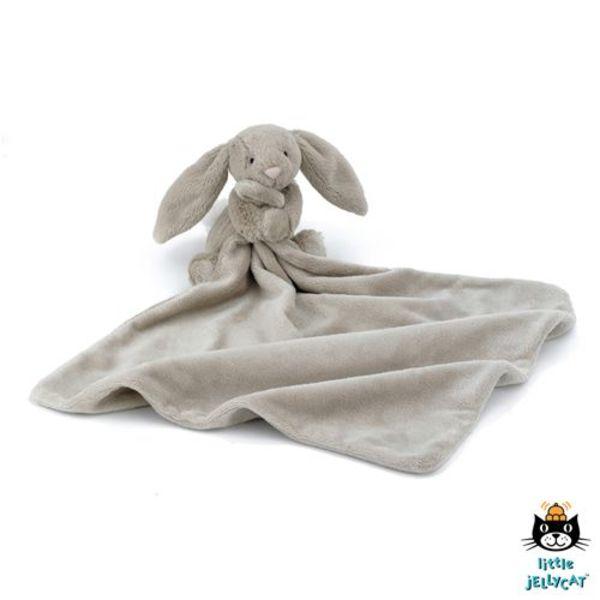 Jellycat - Bashful Bunny knuffeldoekje taupe