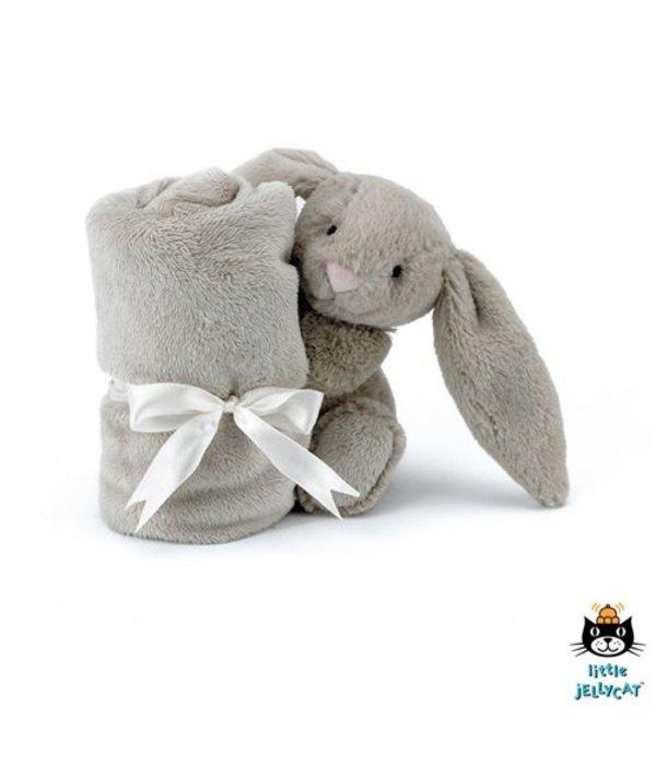 Jellycat Jellycat - Bashful Bunny knuffeldoekje taupe
