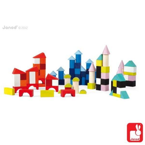 Janod - Kubix blokken 100-delig