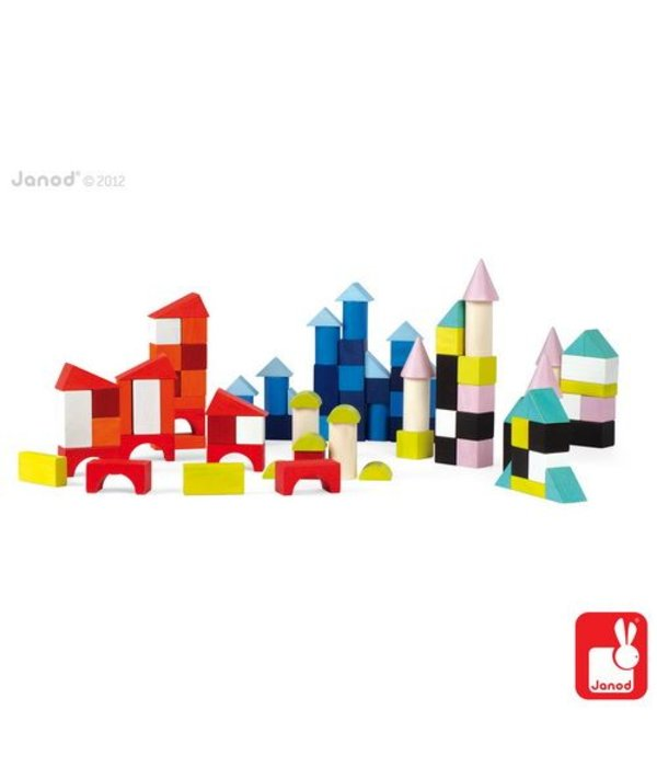 Janod Janod - Kubix blokken 100-delig