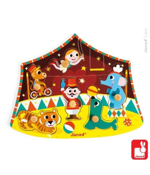 Janod Janod - Puzzel circus
