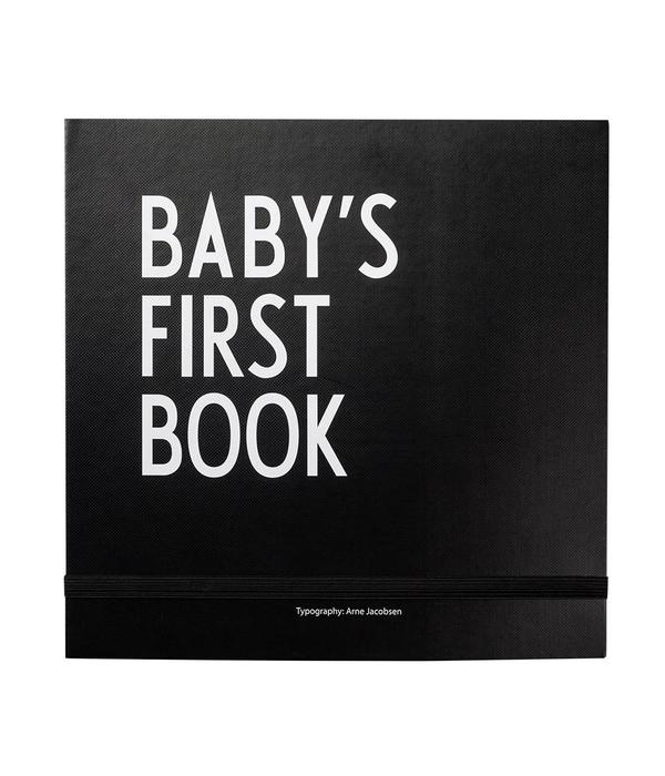 Design Letters DESIGN LETTERS - Baby's first book - zwart