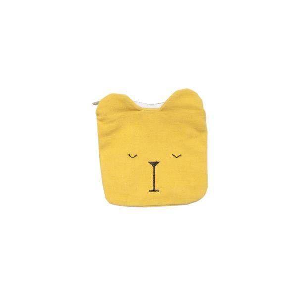 FABELAB - Portemonnee beer geel