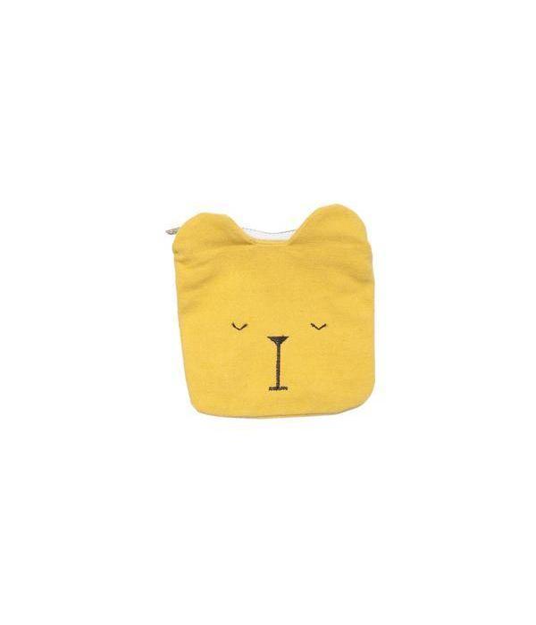 Fabelab FABELAB - Portemonnee beer geel