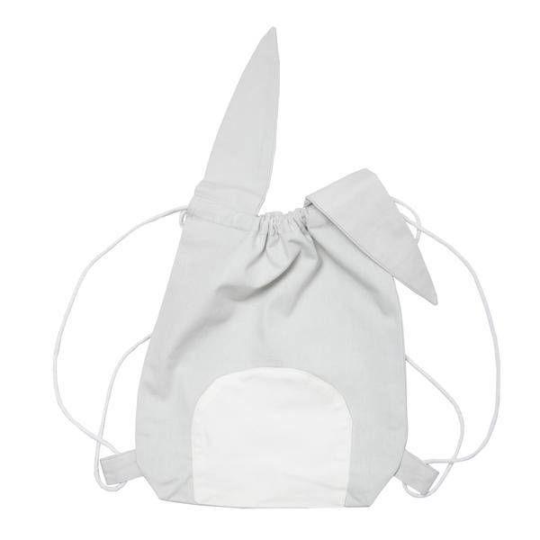 FABELAB - Rugtas konijn grijs