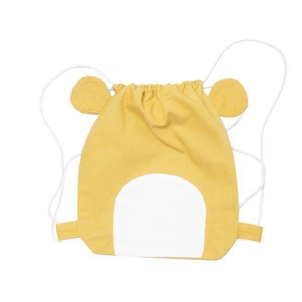 FABELAB - Rugtas beer geel