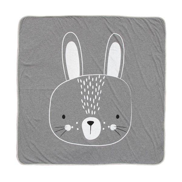 MISTER FLY KIDS - Deken konijn grijs