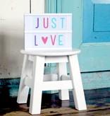 A Little Lovely Company A LITTLE LOVELY COMPANY - Lightbox letterset pastel