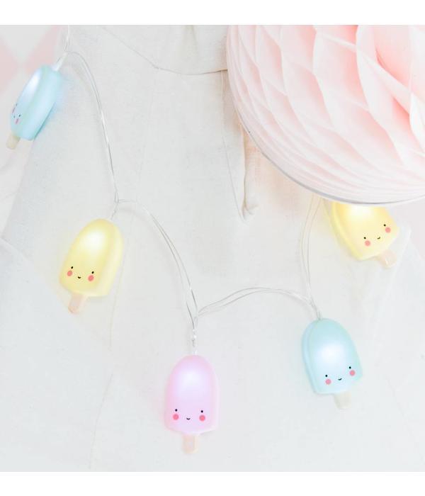 A Little Lovely Company A LITTLE LOVELY COMPANY - Slinger met lampjes ijsjes