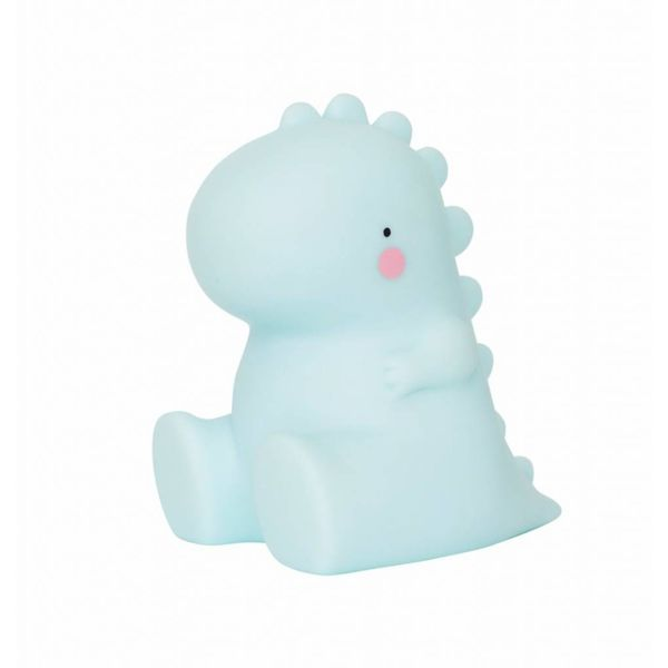 A LITTLE LOVELY COMPANY - Mini lamp dino mint