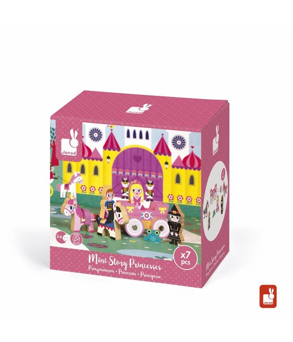 Janod Janod- Storybox mini Ridders 7-delige speelset