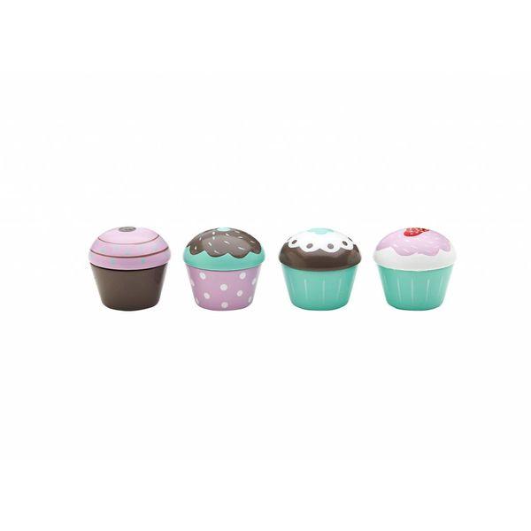 Kid's Concept - Cupcake speelset 4 stuks