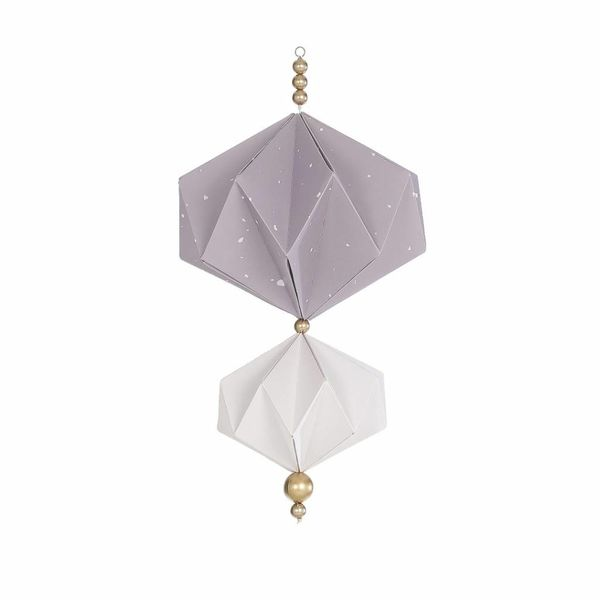 BORN Copenhagen - Origami mobiel lila