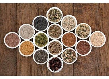 Grains, Kernels et graines