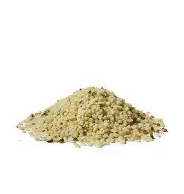 Hemp seed peeled