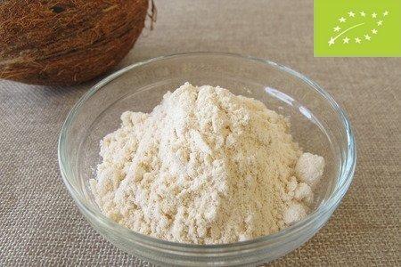 La farine de noix de coco biologique