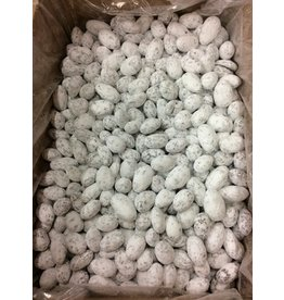 chocolate almonds snow