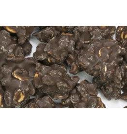 chocolate peanut rocks dark