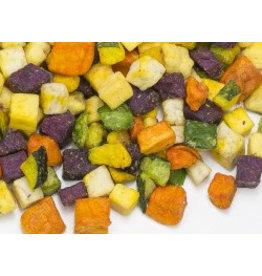 Chips de légumes en dés