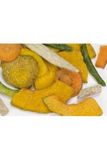 Piments aux légumes poivre et sel