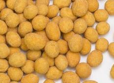 Cacahuetes recubiertos de chile