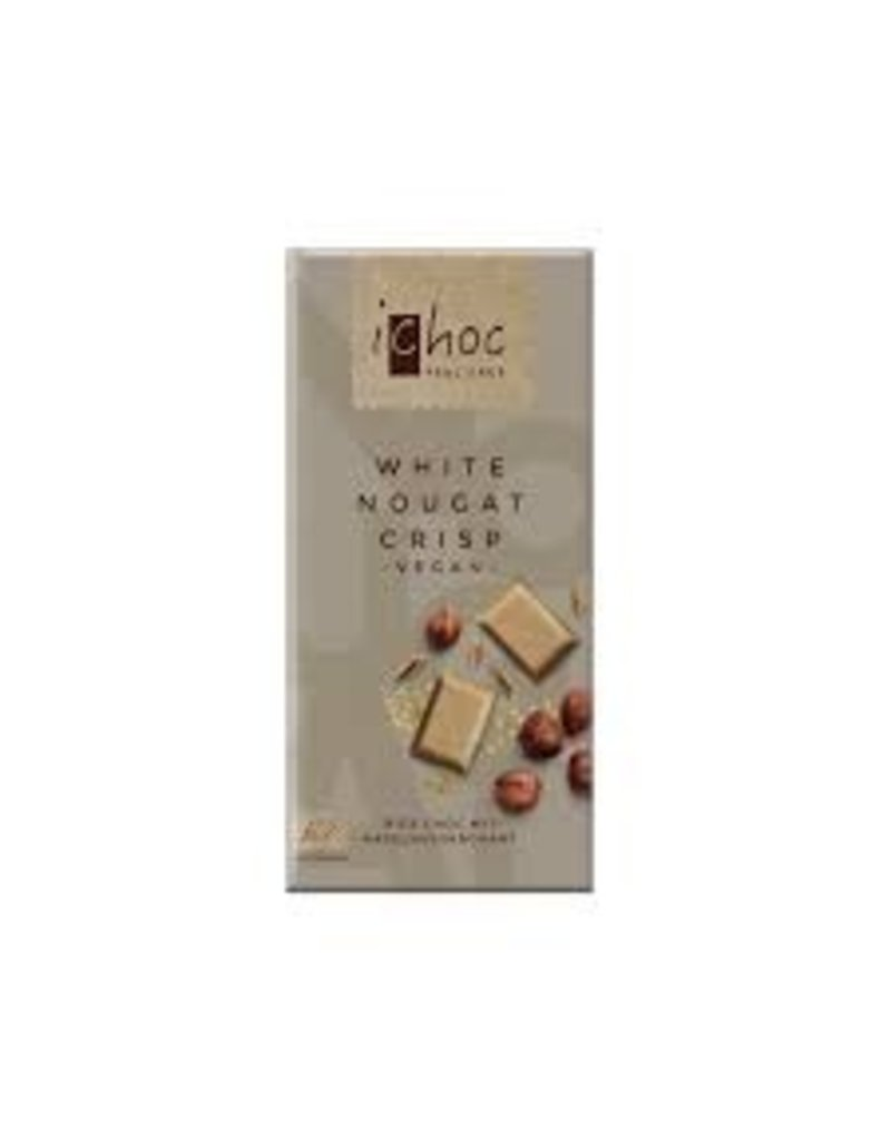 iChoc White Nougat Crisp - Rice Choc