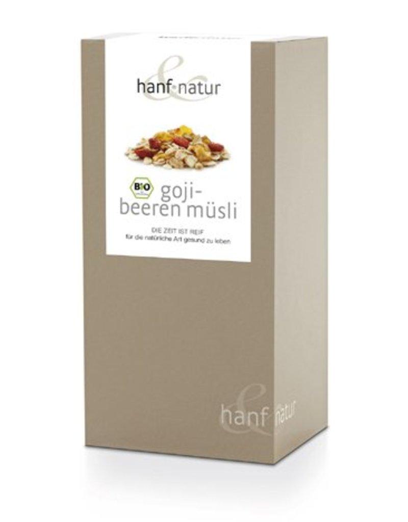 HANF & NATUR Goji-Hanf-Müsli