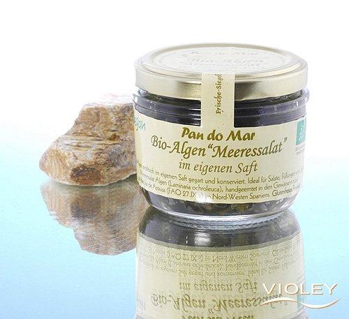 """Pan do Mar Algen """"Meeressalat"""" im eigenen Saft"""