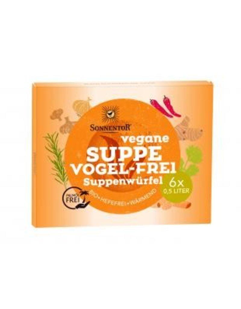 Sonnentor Veganer Suppenwürfel Vogel-Frei BIO