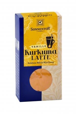 Sonnentor Kurkuma Latte Vanille - Goldene Milch