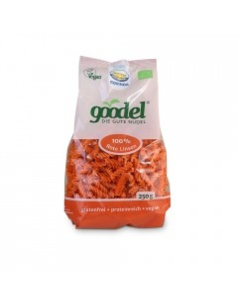 Govinda Goodel Rote-Linsen Nudel glutenfrei