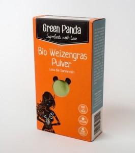 Green Panda Weizengras Pulver