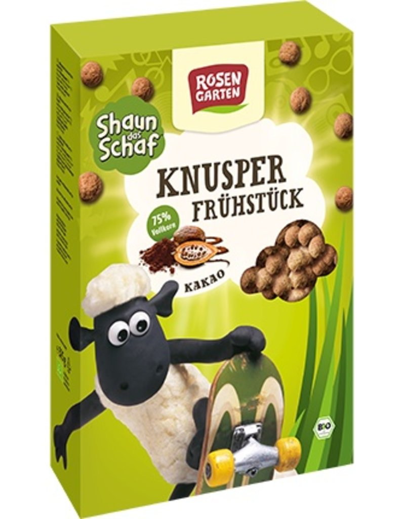 Rosengarten Shaun das Schaf - Knusperfrühstück Kakao