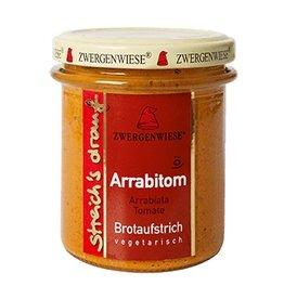 Zwergenwiese Streich´s drauf Arrabitom Brotaufstrich