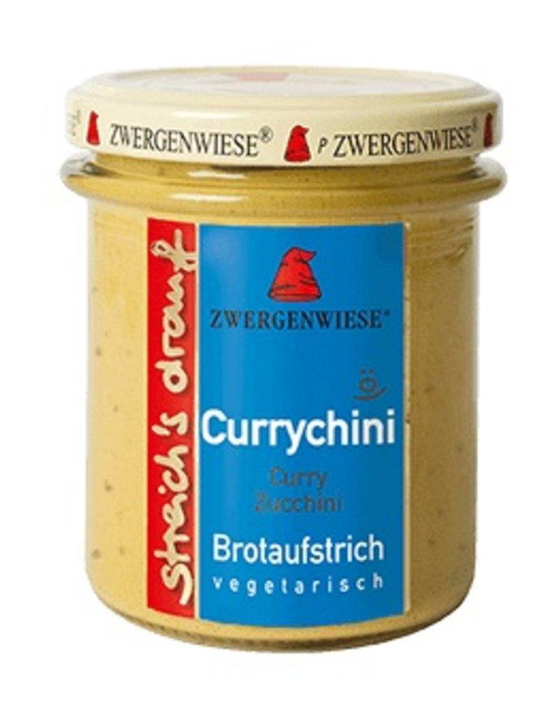 Zwergenwiese Streich ´s draufCurrychini Brotaufstrich
