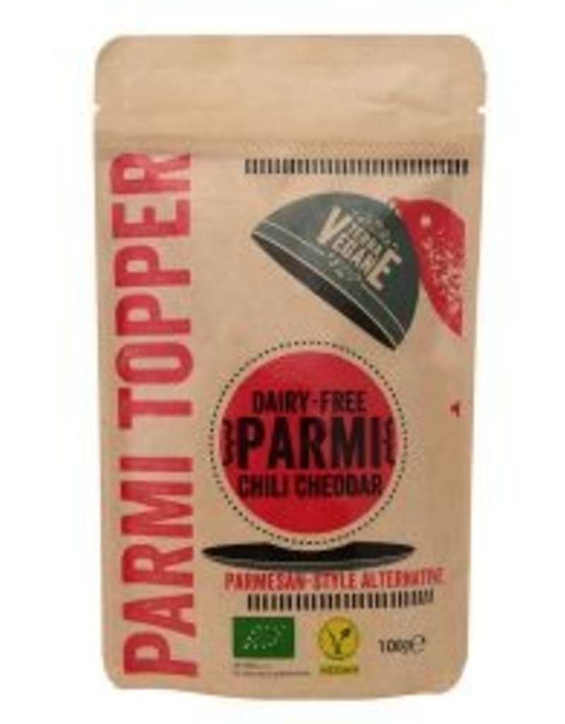 Terra Vegane Parmi Topper: chili Cheddar