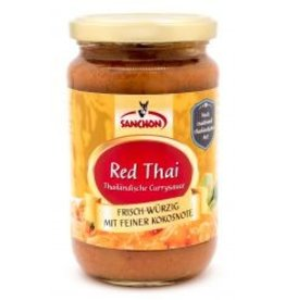 Sanchon Red Thai Currysauce - BIO