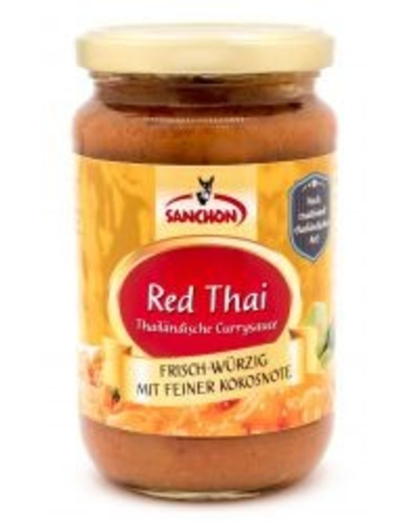 Sanchon Red Thai Currysauce -BIO
